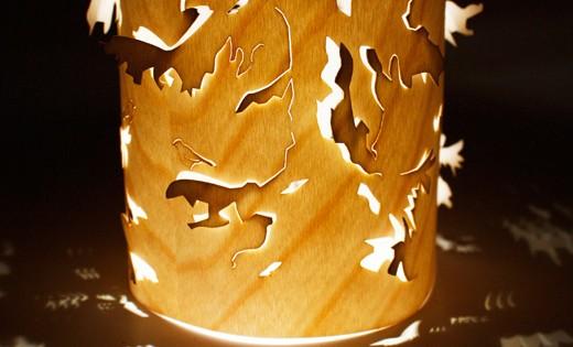 Mini Wooden Lantern